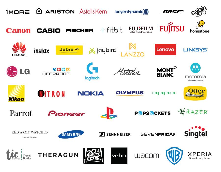 Kingsman Media client logos